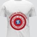 dünya pi günü baskılı tişört